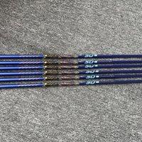نادي مهاوي نوادي الجولف الأصلي رمح Royroots Real Mitsubishi Rayon Graphite Irons 50G 370 TIP R SR S Flex 3inch