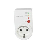 Switcher AUTOMÁTICO AVS 16A 220V Power Surge EU Plug Tipo Tipo Voltaje Seguro Protector de refrigerador