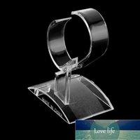Claro Acrílico Pulsera Reloj Pantalla Soporte Soporte Rack Showcase Bangle Pulsera Soporte Soporte Organizador Fábrica Precio Experto Diseño Calidad Último Estilo Original