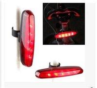 5 LED super helle Fahrrad Rücklicht 7 Modi Fahrradlicht mit Halterung für Sattelstütze Radfahren Bicicleta Lampe Bike-Zubehör 263 W2