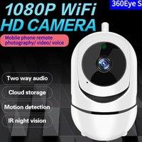 Kablosuz WFI Mini IP Kamera 1080 P 720 P Bulut Depolama Wifi Akıllı Kamera Akıllı İnsan Ev Güvenlik CCTV Cam Akıllı Otomatik İzleme