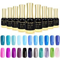 Nail Gel Varnish 12ml Solid Starry Color Soak Off UV LED Lamp Art Salon High Quality Painting Polishes