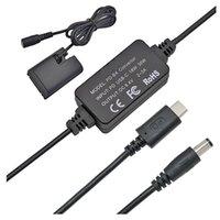 ACK-E6 USB-C AC 전원 어댑터 및 DR-E6 DC 커플러 세트, 교체 LP-E6 LP-E6N