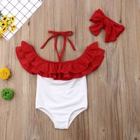 Women Swimwear Baby Girls Toddler Kids Ruffles Swimwear Solid Ruffles Strappy Cute Beach Swimsuit Bikini Set Bathing Suit Tankini