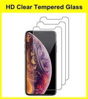 9H Premium Anti-Fingerprint Screen Protector For iPhone 7 6 8 Plus XR XS Max 11 12 Mini Pro Clear Film Temper Glass