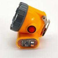 60 unids / lote kl5lm inalámbrico LED minero faro nuevo recargable impermeable impermeable a prueba de explosiones lámpara de la tapa de minería de la luz de minería con la luz estroboscópica