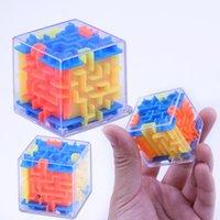 Paciência Jogos 3D Cubo Puzzle Labirinto Brinquedo Jogo Caso Caixa Diversão Cérebro Jogo Desafio Brinquedos Balanço Educacional Brinquedo Para Crianças