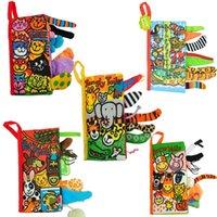 Детские игрушки Младенческие Детские Детские Ранние Разработка Ткань Книги Обучение Образование Разнообразные Деятельность Книги Животных Стиль сказки Для Детских Игрушек