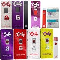 케이크 최신 포장 케이크 XL Opus 델타 8 전자 담배 일회용 케이크 3 Oill vape 펜 키트 장치 포드 270 / 280mAh 두 스타터 키트 기화기
