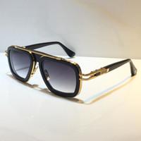 403 Neue Mode-Sonnenbrille mit UV-Schutz für Männer und Frauen-Weinlese-Rechteck-Planke Metallrahmen Beliebte Top-Qualität kommen mit Fall