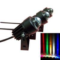 Outdoor Landscape Beleuchtung 100-240V / DC 12V LED-Flutlicht-Wandscheibe wasserdichte Scheinwerfer Spotlampe