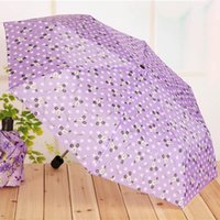 Umbrellas 1 Pcs Folding Umbrella Rain Windproof Portable Short Handle Fashion For Outdoor Travel UND Sale