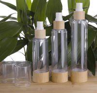 2021 Cosmetic Packaging Bottle 20ml 30ml 50ml 80ml 100ml 120ml Empty Airless Vacuum Pump Bottles for Makeup Cream Serum Lotion Skin Care