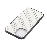 TPU + PC 2D Sublimation Case mit leeren Aluminiumblechen für iPhone 12 11 PRO MAX XS XR xs max für den DIY-Wärmeübertragungsdruck
