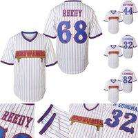 Benchwarmwarms Pinstriped Baseball Jersey 68 Clark Reedy 32 Howie Goodman 82 Richie Goodman 44 Gus Matthews Stitched Baseball Jerseys S-XXXL
