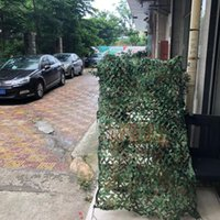 4 * 6m Camouflage Net Hunting Camping Pergola Parasole Canopy Giungla Outdoor Twinings Sole Shelter Party Tent Car-Covers Veil