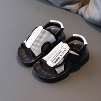2021 Summer New Children's Shoes Baby Sandals Soft-soled Beach Scandals Boys' Toothy Light-soled Casual Shoes Hot In Kids Hollow
