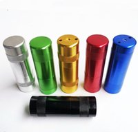 Aluminium Alloy metal bag Cream Whipper Portable smoking pipes For Charger Gas N2O NOS Cracker smoke set dhzeus shop
