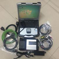 MB Estrela C5 SD Connect Ferramenta de diagnóstico com Toughbook CF30 Laptop 2021.06 Mais recente HDD SSD Car Scanner