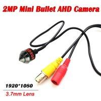 2MP HD AHD Seucrity Cámara Mini 1080p Metal Pinhole Lens AHD Cámara para sistema DVR