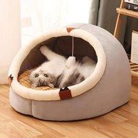 Cat Beds & Furniture House Cu(origin) Litter Trap Mat Mm(origin) Cama Para Gato Cn(origin)litier Pour Chat De(origin) Pet Bed Th(origin) Xxx