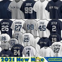 99 Aaron Juez Jersey Béisbol 2 Derek Jeter 45 Gerrit Cole 26 Nuevo DJ Lemahieu York Giancarlo Stanton Gleyber Torres Gio Ursella Aaron Hicks