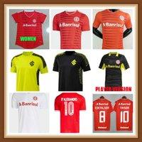 20 21 Internacional RS D 'Alessandro Mens Femme Jerseys Guerrero N. Patrick Home Rouge Chemise de football Uendel Dourado Uniforme