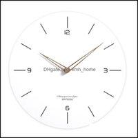 Wall Décor & Gardenwall Clocks Clock Modern Minimalist Living Room Home Fashion Guess Women Watch Atmosphere Silent Relogio Parede Quartz No