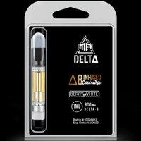 1000mg Dosierung 1ml dickölgefülltes Delta 8 510 Thread-Border-Kartuschen für Kekse Batterie E-Zigarette