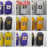 2021 NCAA Баскетбольная майки молодежь 23 MJ Zach 8 Lavine Джерси синий красный белый сшитый
