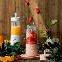 Juicers 350ml 휴대용 전기 과일 과일 쥬서 스마트 USB 충전식 미니 가정용 주스 컵 블렌더 스무디 기계 스포츠 병