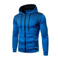 Men's Hoodies & Sweatshirts Autumn Mens Casual Slim Fit Active Zip-up Jackets With Pockets Lightweight Basic Top Pollover Long Sleeve Sweats