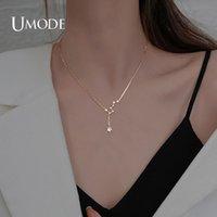 Collares colgantes Umode 2021 Big Dipper Necklace para mujer Moda CZ Clavícula Cadena Regalo Accesorios de joyería CHOCKER UN0418