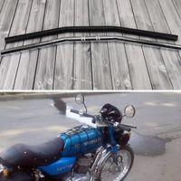 Мотоцикл для мотоциклов 22 мм руля CG125 GN125 Motorbike мотоцикл мотоцикл 7/8 '' руль универсальный черный хромированный Guidon de moto