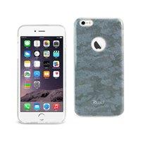 Reiko iphone 6 plus / 6s plus brillant scintillant brillant camouflage boîtier hybride en bleu / brun / gris / violet / jaune