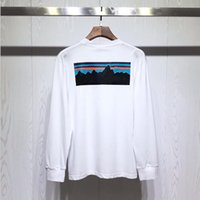 Fashion- Summer Designer T Shirts para hombres Tops Luego de lujo Transport T Shirt Hombres Mujeres Ropa de manga larga Camiseta de manga larga