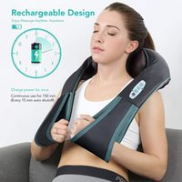 Rechargeable Neck Shoulder Shiatsu Massager MSS-310B