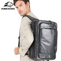 Sac à dos Kingsons Voyage Anti-Theuf Lock Femmes Grande Capacité Épaule Crossbody Bagpack Male Journey Business Main Bagage Sac