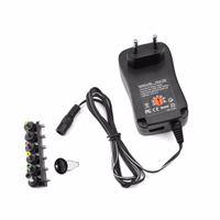 Other Lighting Accessories 3V 4.5V 5V 6V 7.5V 9V 12V 30W AC DC Adapter Adjustable Power Supply Adaptors Universal Charger For Led Strip Phone Electronic Device