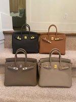 Fashional Handtaschen Top Qualität Version 30 cm 25cm Berkin Luxurys Designer Leder Kupplung Tasche 2021 HEISSE Soldings Womens Bags Designer Handtaschen
