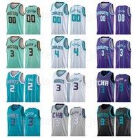 Напечатанный напечатан баскетбол Девинте Грэм Джерси 4 Ламело шар 2 Гордон Hayward 20 Terry Rozier III 3 синий зеленый фиолетовый белый серый черный