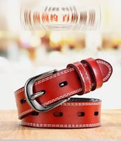 Belt for Women Ladies Luxury Leather Strap Gold Plate Alloy Dress Waistband Buckles Fancy Vintage Jeans