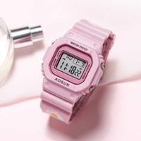 Uthai ce36 дети цифровые электронные спортивные дети смотреть наручные часы для девочек мальчики ребенок подростки студент часы многоцветные
