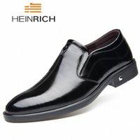 Heinrich Moda Düğün Ayakkabı Erkekler Için Konfor İş Resmi Ayakkabı Erkekler Deri Elbise Chaussures Hommes en Cuir 05zy #