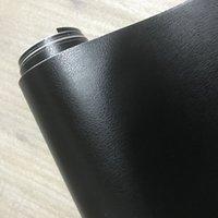3D PVC DIY Araba Styling İç Dashboard Sticker Siyah Deri Doku Trim Vinil Wrap Sac Film Sticker 10/20/30/40 / 50x152 cm