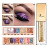 Eye Shadow 18 Colors Liquid Glitter Eyeshadow Pearlescent Waterproof Quick-Drying Long Lasting Makeup Cosmetics Maquiagem TSLM2