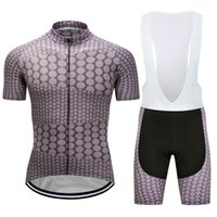 2021 MTB الدراجات الملابس مجموعة رجل الدراجة ركوب جيرسي مريلة السراويل أطقم الرياضة وسادة، تنفس، سريعة الجافة، مكافحة الأشعة فوق البنفسجية، البوليستر