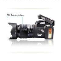 Dijital Kameralar 2021 Polo D7200 + 50X Optik Yakınlaştırma Kamera HD 33million Piksel Otomatik Odak Profesyonel SLR Video Üç Lens