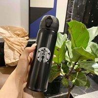 16oz Starbucks Men et femmes tasses préférées avec tasses à café Tasses en acier inoxydable Support Logo personnalisé 2032 V2