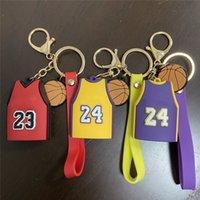 كرة السلة جيرسي الحلي الهاتف الخليوي الأشرطة حقيبة قلادة هدية الظهر المعلقات سيارة محفظة مفتاح سلسلة المعادن pvc الفانيلة